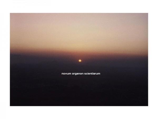 Novum Organon1